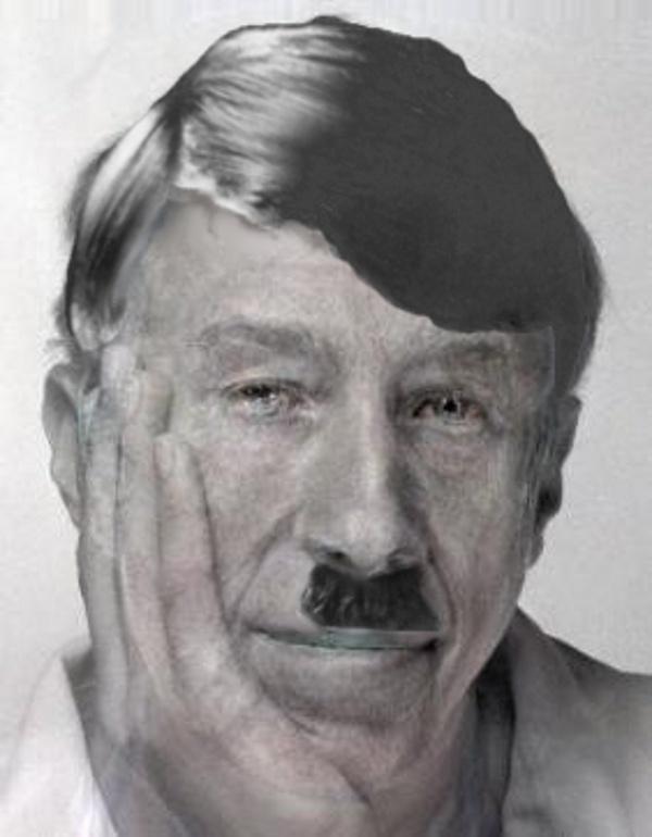 Artist's impression of David Hobday at 60