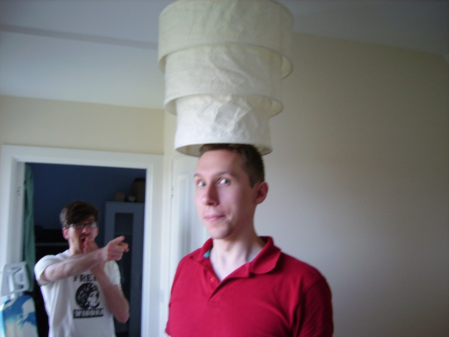 Hobday in a hat