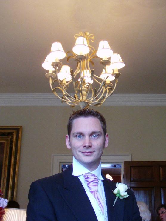 Dave's illuminating hat