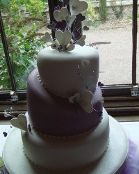 Triple Layer Wedding Cake